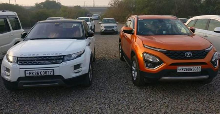 Tata Harrier Range Rover Evoque And Audi S5 Which One Can
