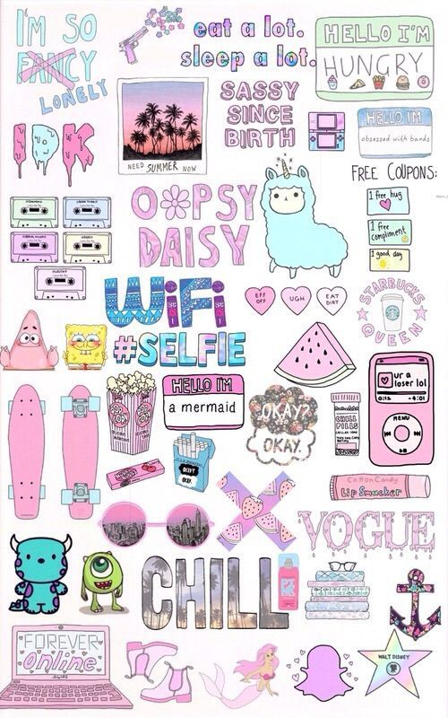 This Is The Most Random Collection Seriously Its Like A Whole - Wallpaper for girls tumblr
