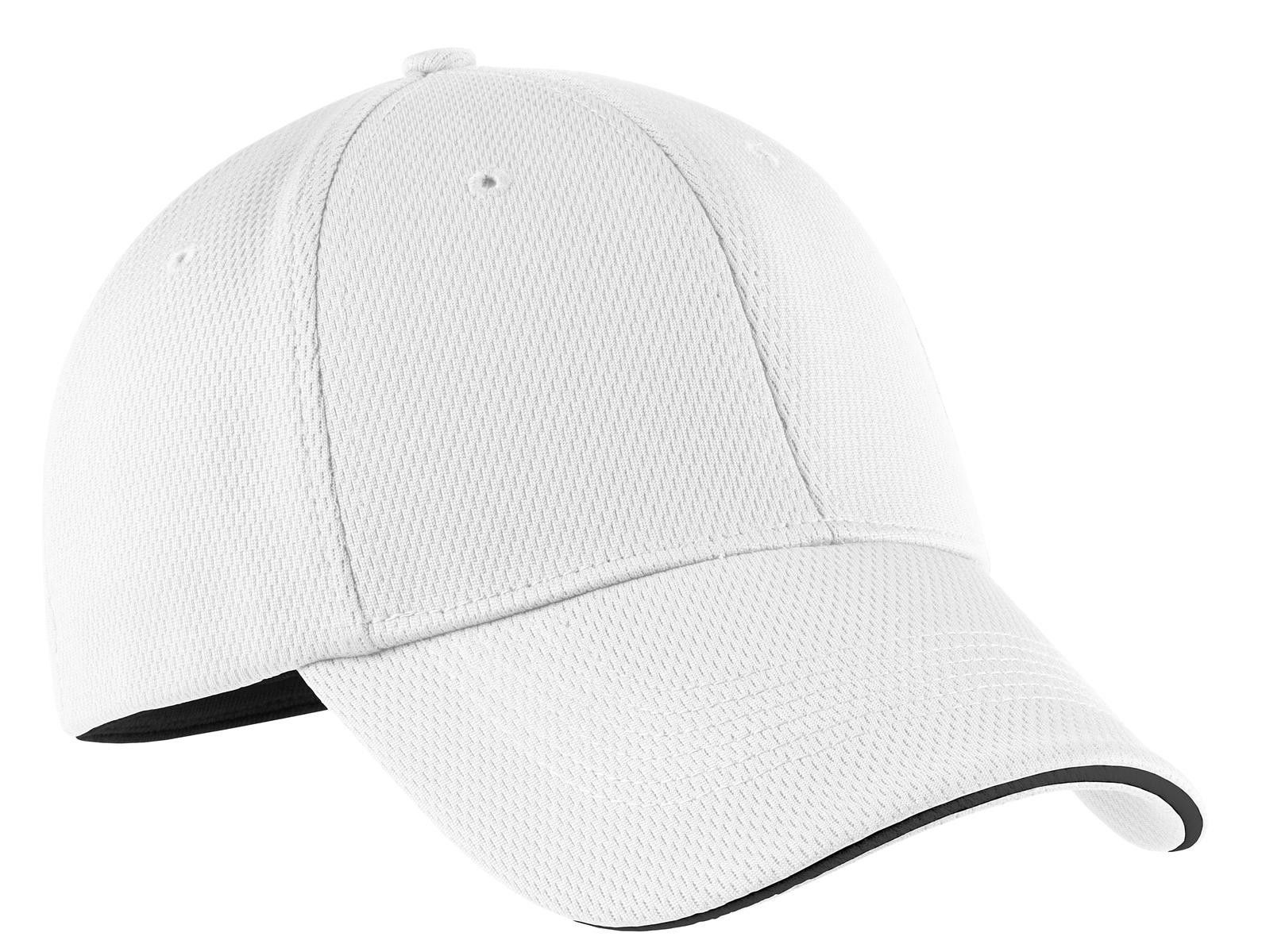 f77c863776e Nike Golf - Dri-FIT Mesh Swoosh Flex Sandwich Cap.333115 White ...
