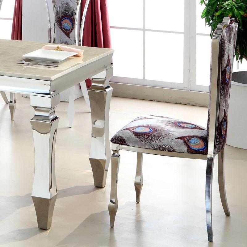 Acero-inoxidable-mesa-de-comedor-minimalista-moderno-europeo-comedor