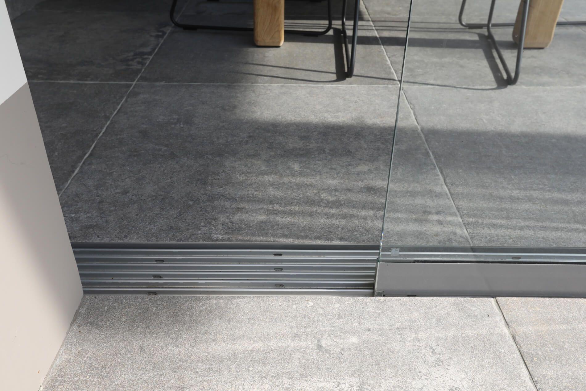Schiebeelement Bodenschiene Schiebeelemente Glasschiebetur Und