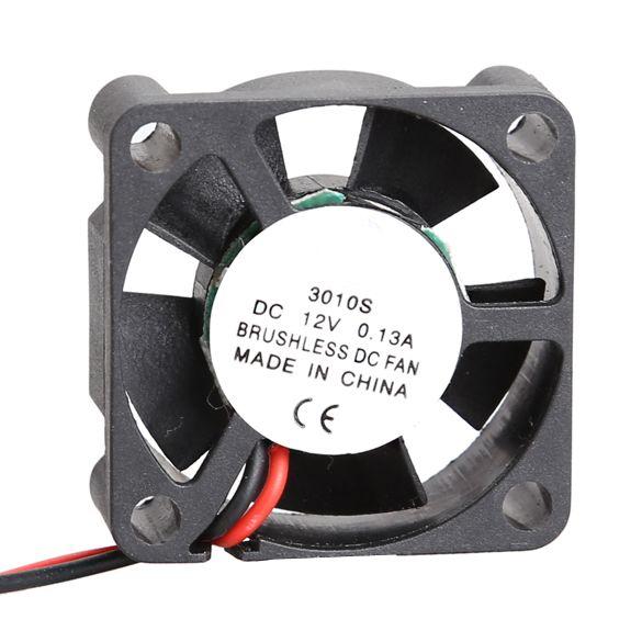 3010s Ultra Quiet Mid Speed Brushless Dc Fan 12v Cooler Brushless