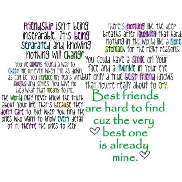 My Best Friend Fits This Description Perfectly Friends Quotes
