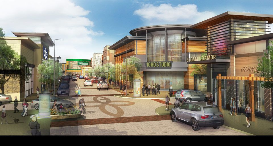 Grandscape Mixed Use Development Leasing Opportunity