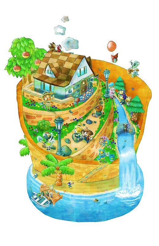 Animal Crossing New Leaf Art Print By Futago Animal Crossing Fan Art Animal Crossing 3ds Animal Crossing