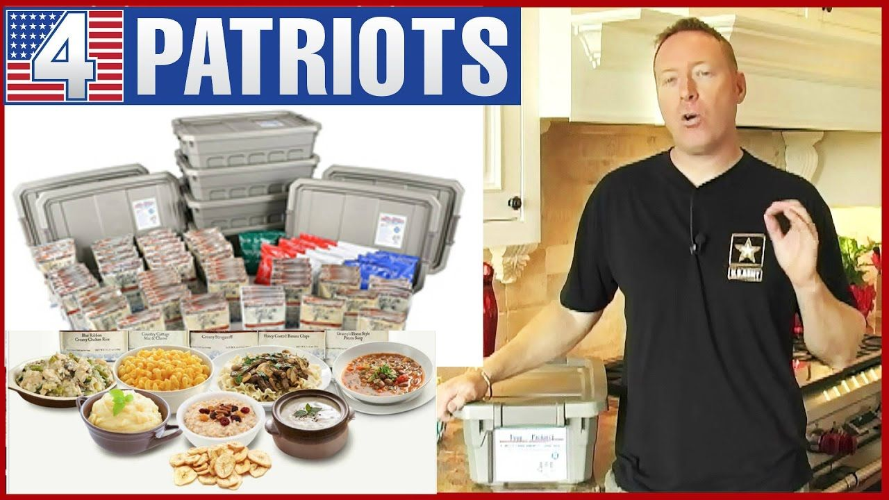 Food for patriots survival food 25 year package food