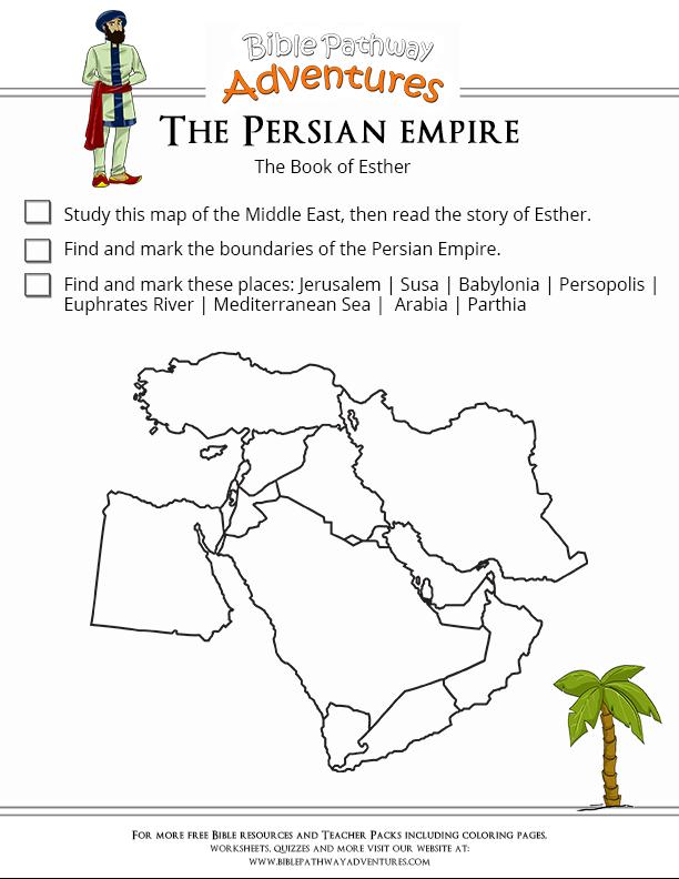 Printable Worksheets tlc worksheets : Bible Worksheet: The Persian Empire | Persian, Worksheets and Empire