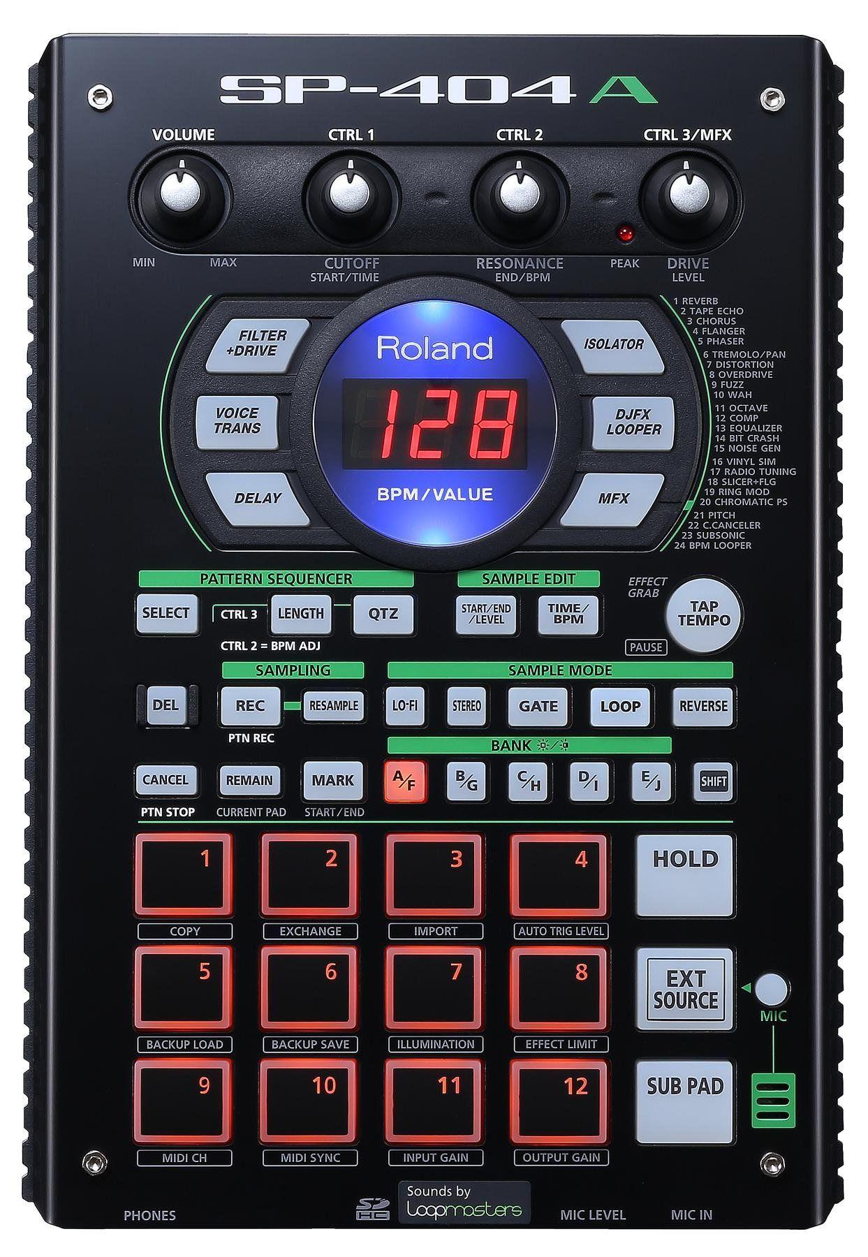 roland sp 404a linear wave sampler in 2019 playground drum machine dj gear drum patterns. Black Bedroom Furniture Sets. Home Design Ideas