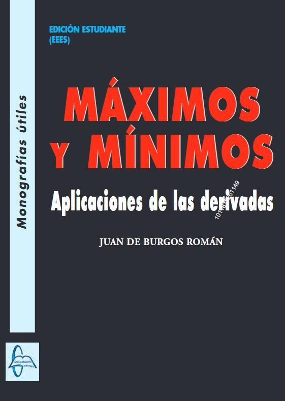 Ingebook Maximos Y Minimos Aplicaciones De Las Derivadas