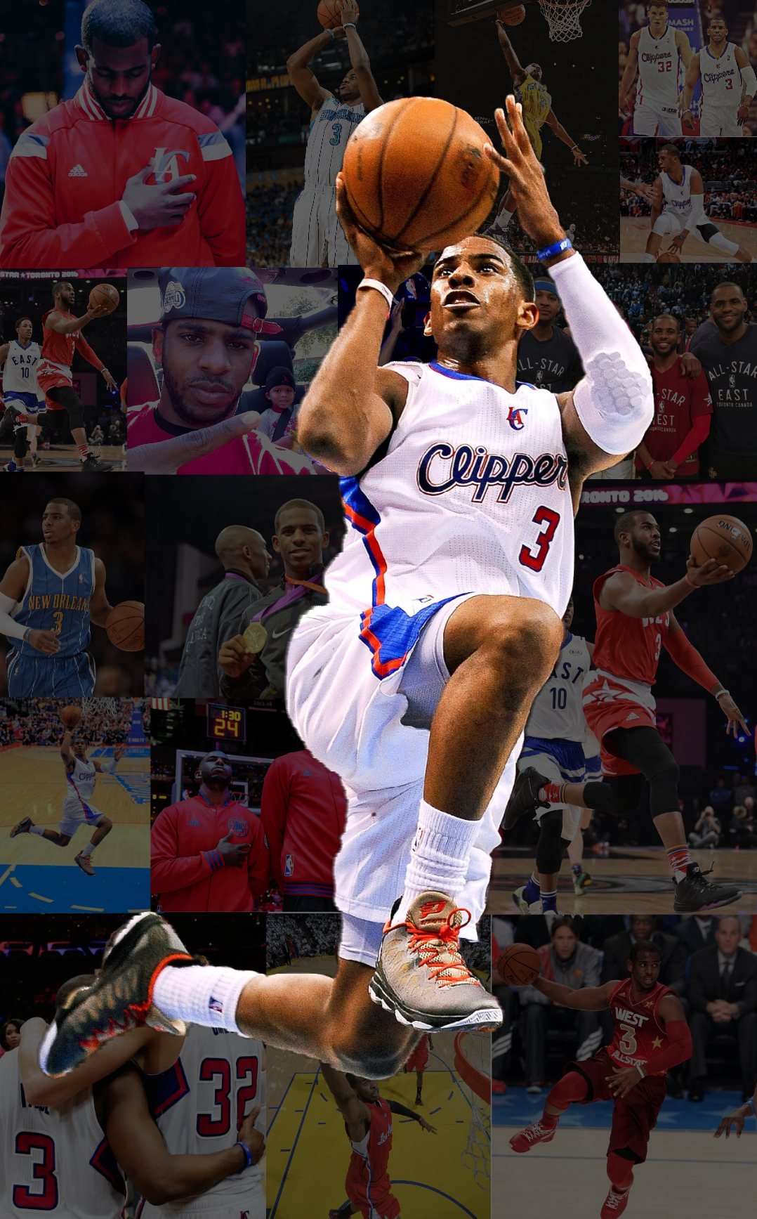 chris paul wallpaper about that cp3 life pinterest