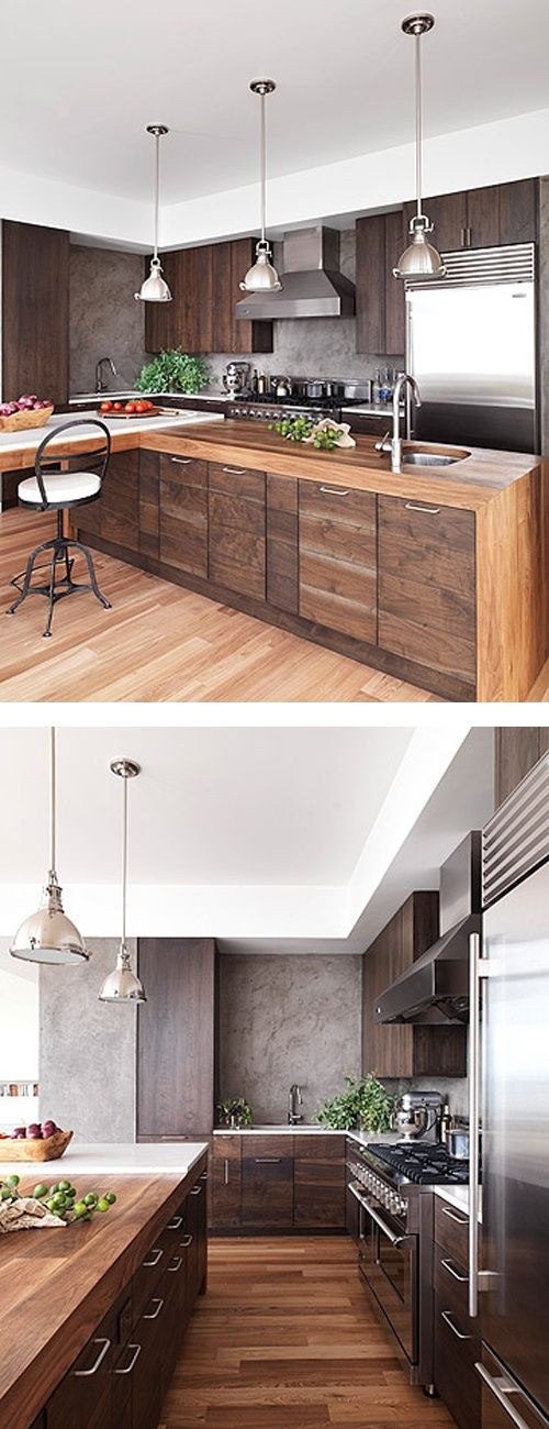 Best Wood And Concrete A Match Made In Heaven Kitchen Design 400 x 300