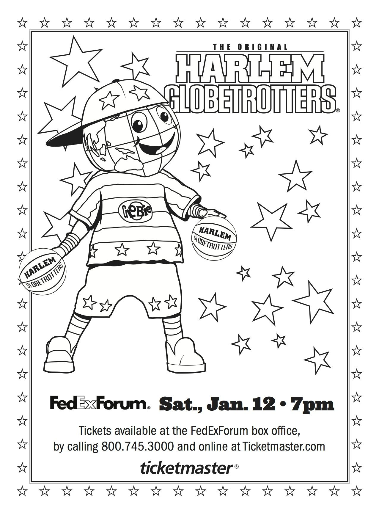 the world famous harlem globetrotters coming in  the harlem are coming to on follow memphis parent for your chance to win a family four pack of tickets we ll be drawing a lucky