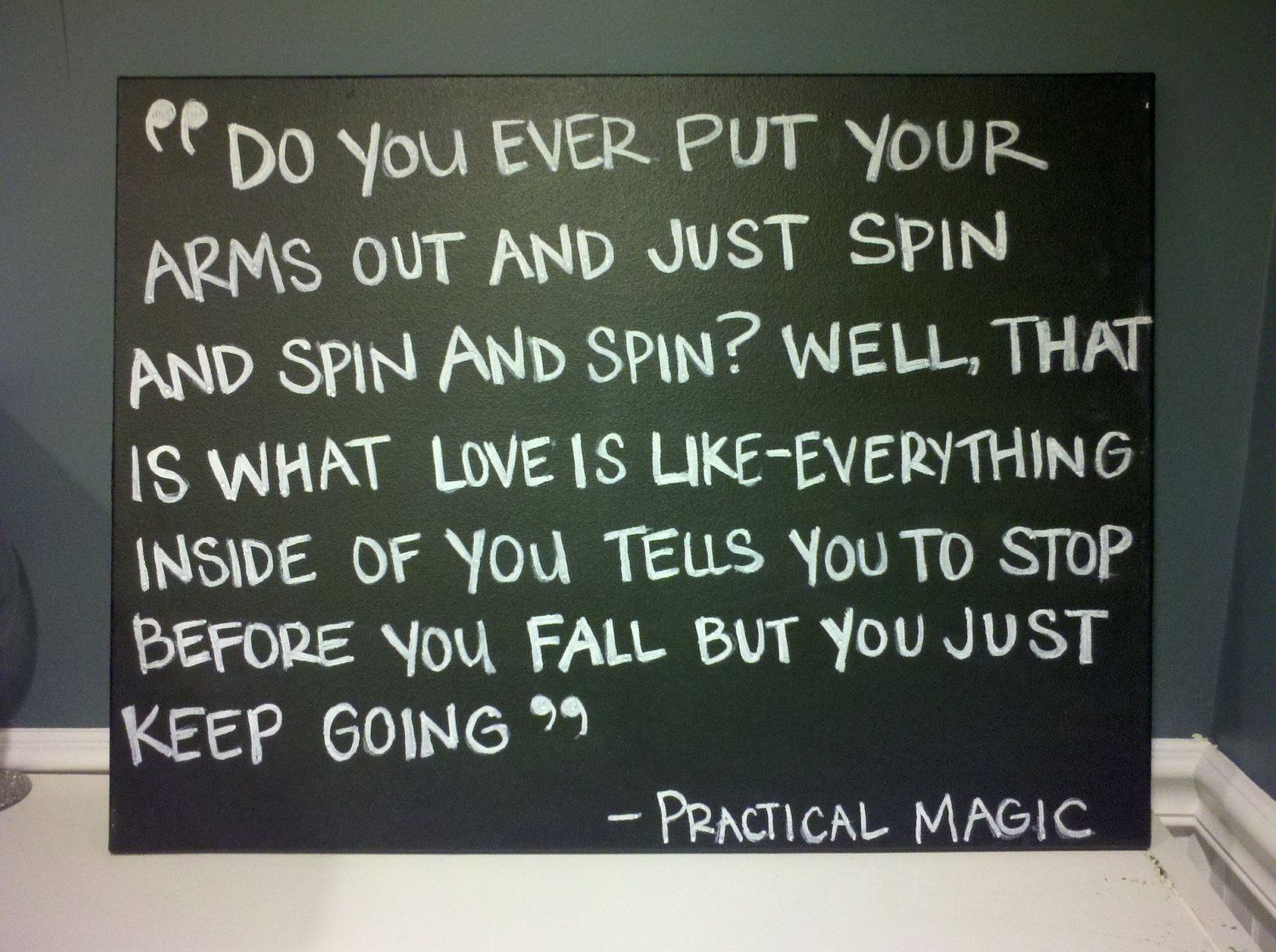 Practical Magic Quotes About Love | Quote: Select An Option Sleepless In  Seattle Practical Magic