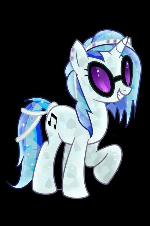 DJ Pon3 as a Chrystal Empire pony