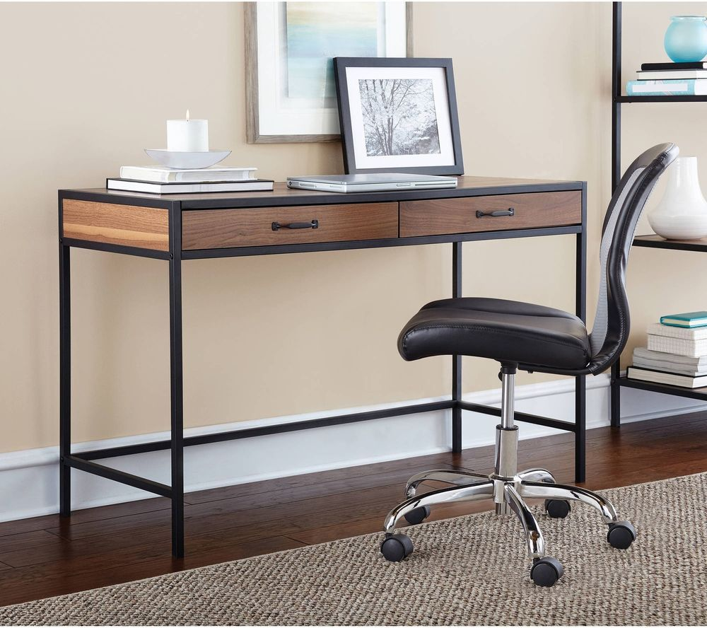 Computer Desk Home Office Table Laptop Writing Workstation Modern Furniture New #Mainstays #Modern