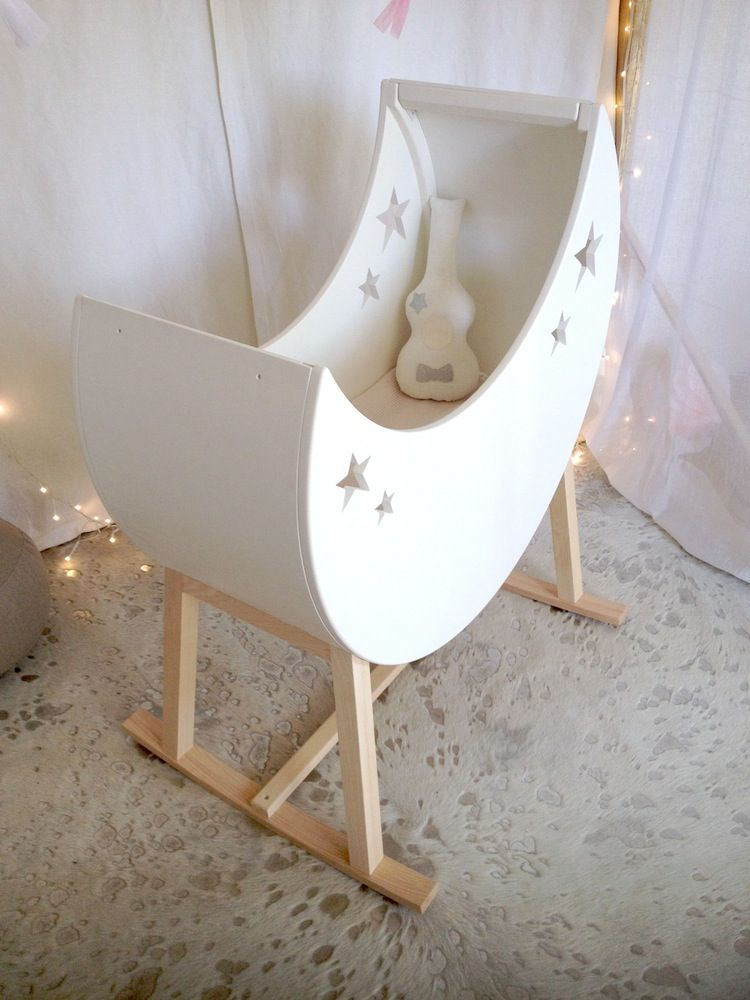 Image of Berceau Lune à Bascule | Доска для детей, которую создала Я ...