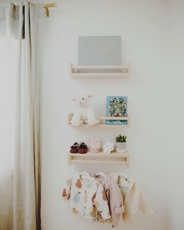 9 Nursery Wall Decor Ideas You Ll Love Artifact Uprising Nursery Wall Shelf Nursery Wall Decor Boy Baby Wall Decor