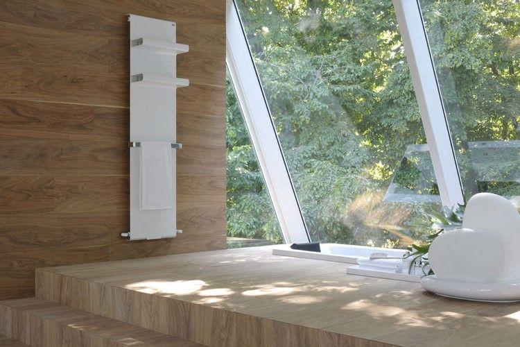 Handtuchwärmer fürs Bad - Rebel von Francesco Lucchese für Caleido - parkett für badezimmer