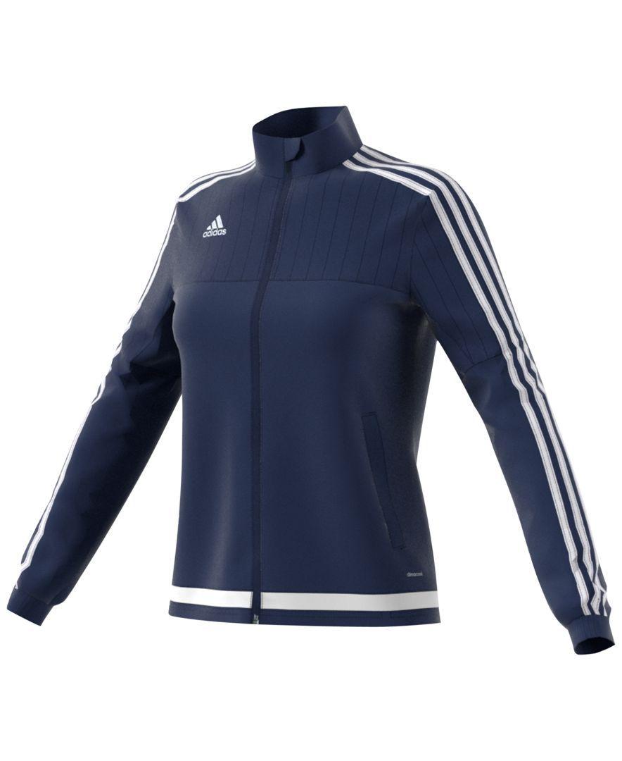 6006893e7d64 adidas ClimaCool Tiro 15 Soccer Training Jacket