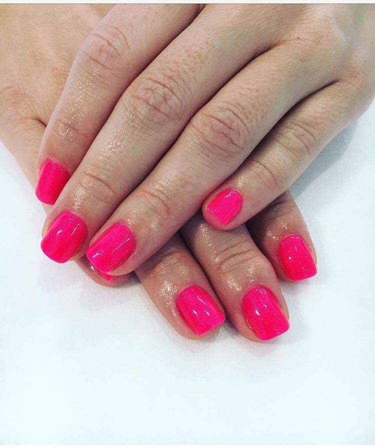 Nail Dip Powder Nyc: SOG ProGel Pink Cupcake RCM Simply Adorable Gelish Pink