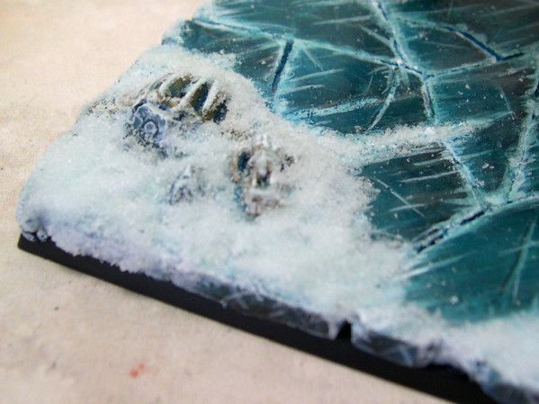 how to make ice bases warhammer