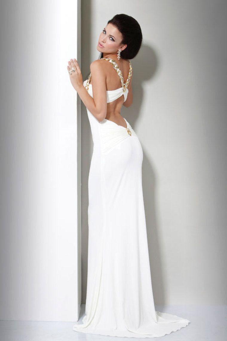 White Evening Dresses Under 100 | Blush | Pinterest | Dress prom ...