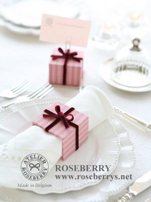 Cartonnage gift box napkin ring Coisas de Natal Pinterest