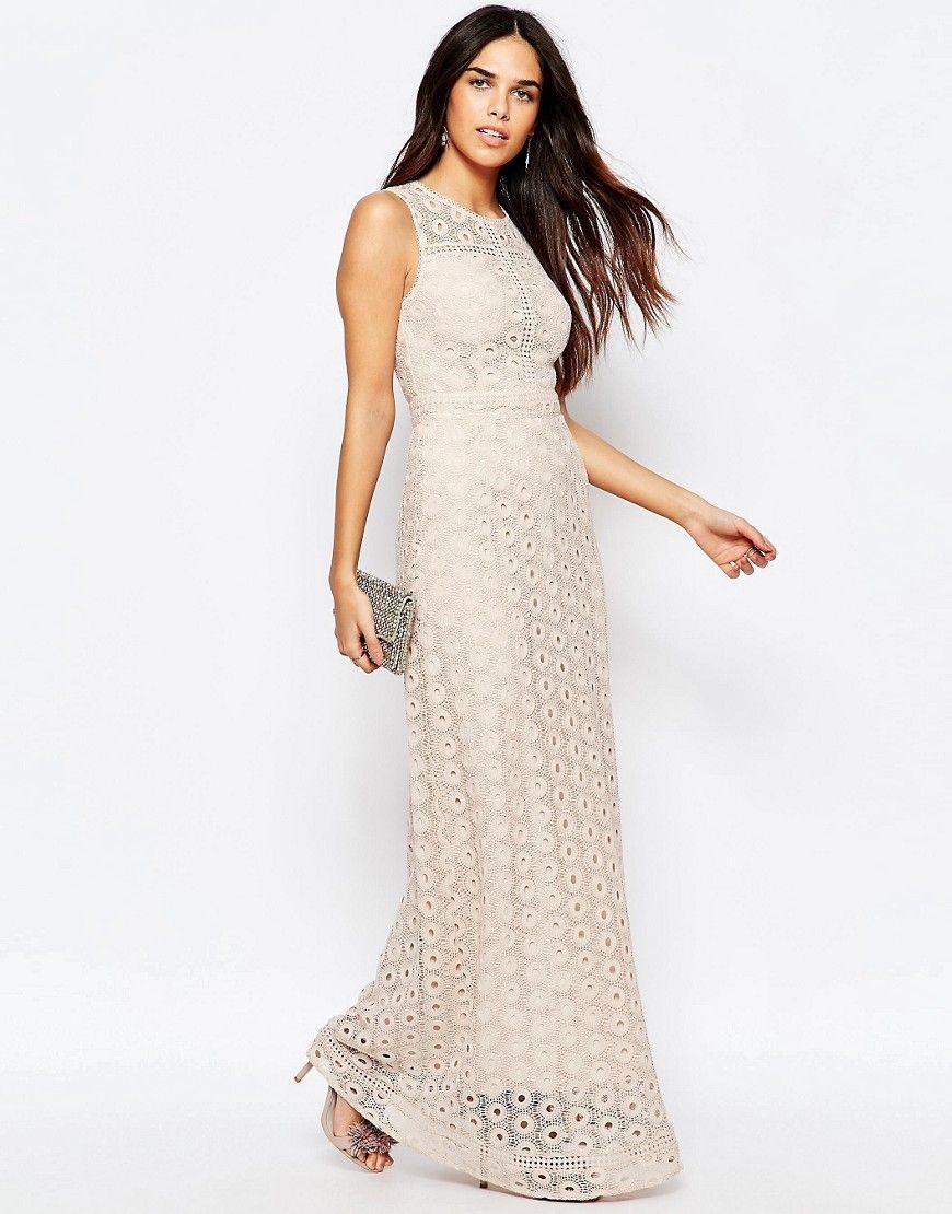 Warehouse Mix Lace Maxi Dress | Verschiedenes und Bilder