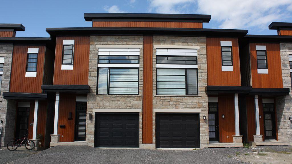 Epingle Sur Portes Contemporaines Contemporary Garage Doors