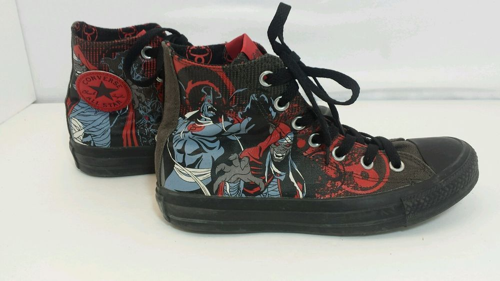 462f1f444e9 Thundercats Converse All Stars High Top shoes Chucks Sneakers Vintage 80 s  EUC  Converse  CasualShoes