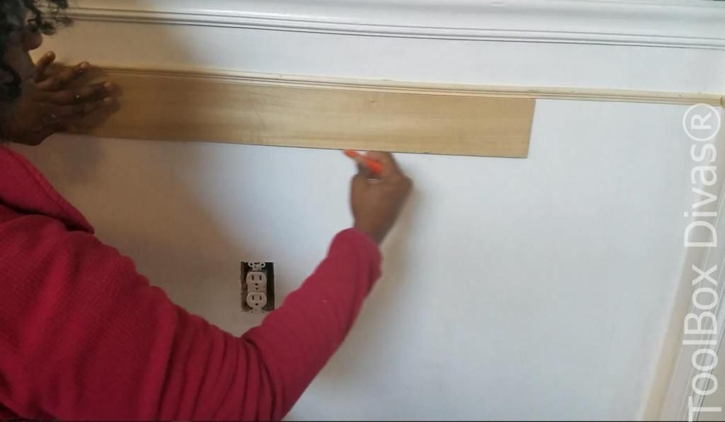 How to Install Picture Frame Moulding Wainscoting  ToolBox Divas  How to Install Picture Frame Moulding Wainscoting  ToolBox Divas