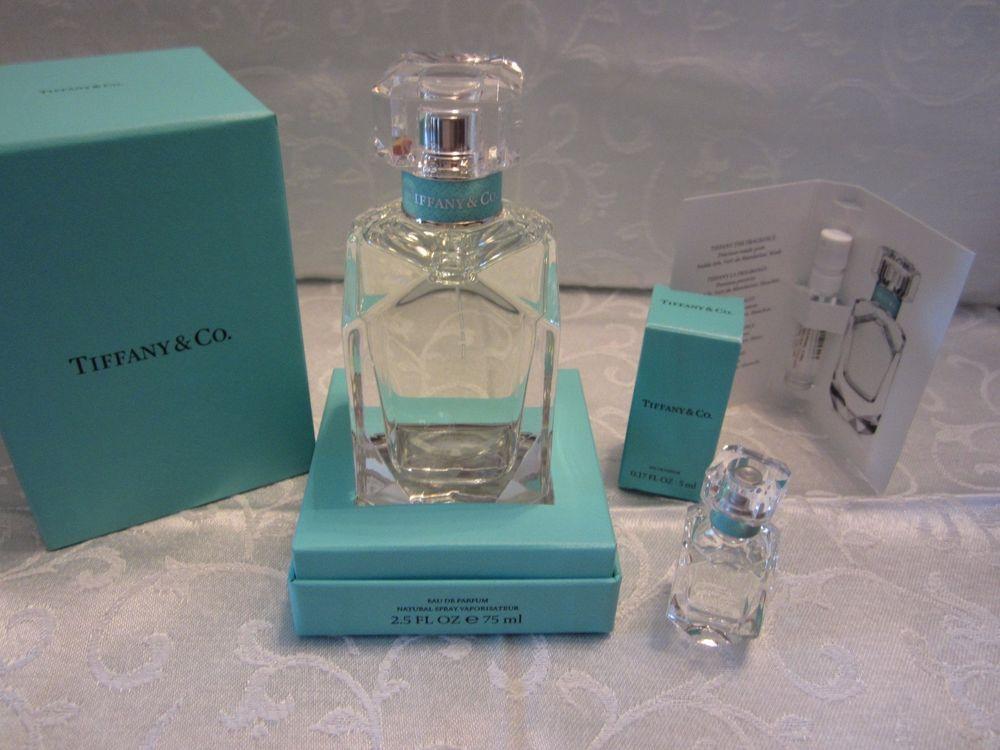 Tiffany Co Eau De Parfum 2 5oz 75ml Women S New Perfume Just Released Nib Lot Tiffanyco Perfume New Fragrances Perfume Bottles