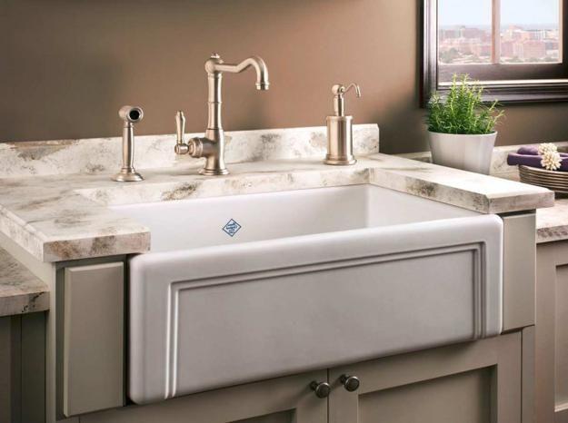 Modern Kitchen Sink Materials And Design Ideas Modern Kitchen