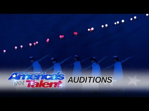 Elevenplay: Dance Act Creates Stunning Visuals with Drones and Lights - America's Got Talent 2016 - YouTube