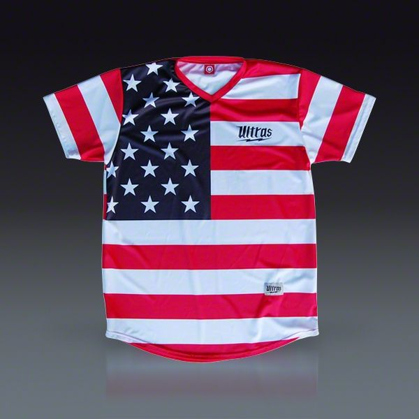 b973421a530 Ultras American Flag  76 Sublimated Soccer Jersey