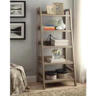 Shop For Linon Dublin Ladder Bookcase. Get Free Shipping At Overstock.com    Your Online Furniture Outlet Store! Get 5% In Rewards With Club O!    18013264