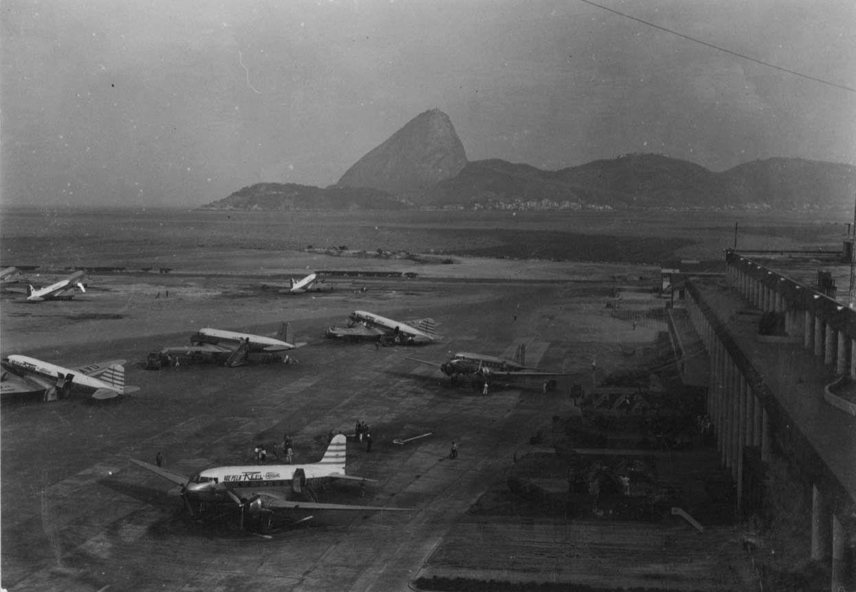 Clássicos da Arquitetura: Aeroporto Santos Dumont,Cortesia de Cultura Aeronautica