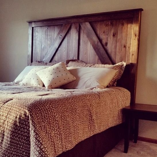 Handmade Wood Headboard Angeles Los Reclaimed