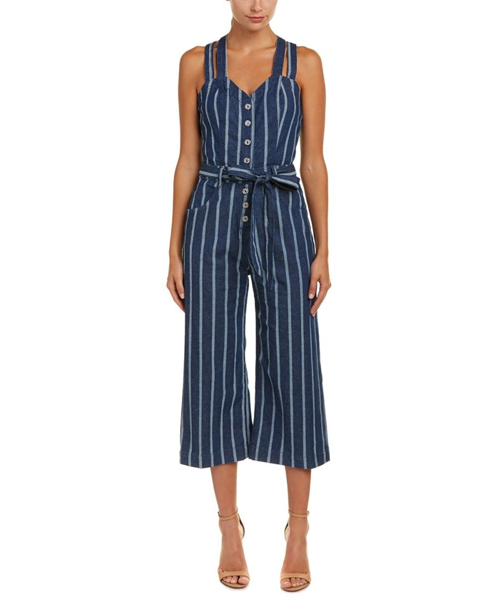 7b1ad9c0c2f 7 For All Mankind Button Front Jumpsuit