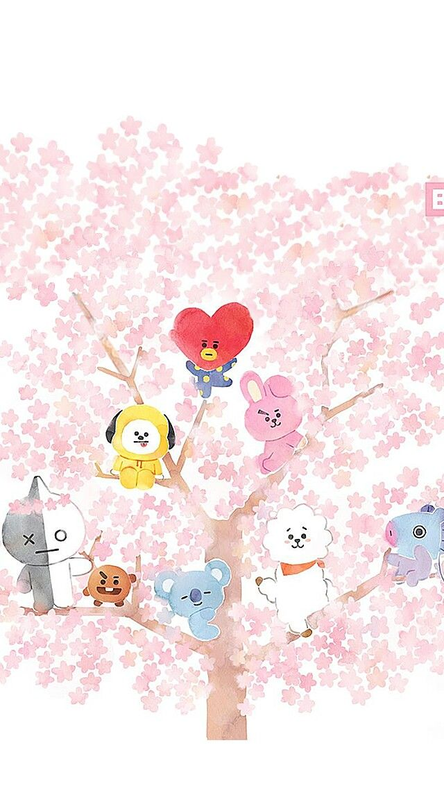 bt21 🌟🌙 shooky cooky tata chimmy mang koya Rj