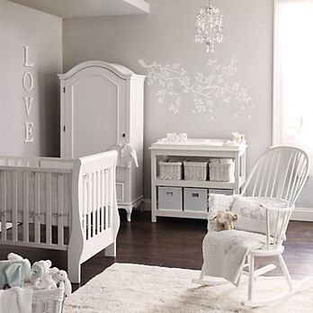 baby room decoration white grey yellow neutral unisex nursery ideas pinterest. Black Bedroom Furniture Sets. Home Design Ideas