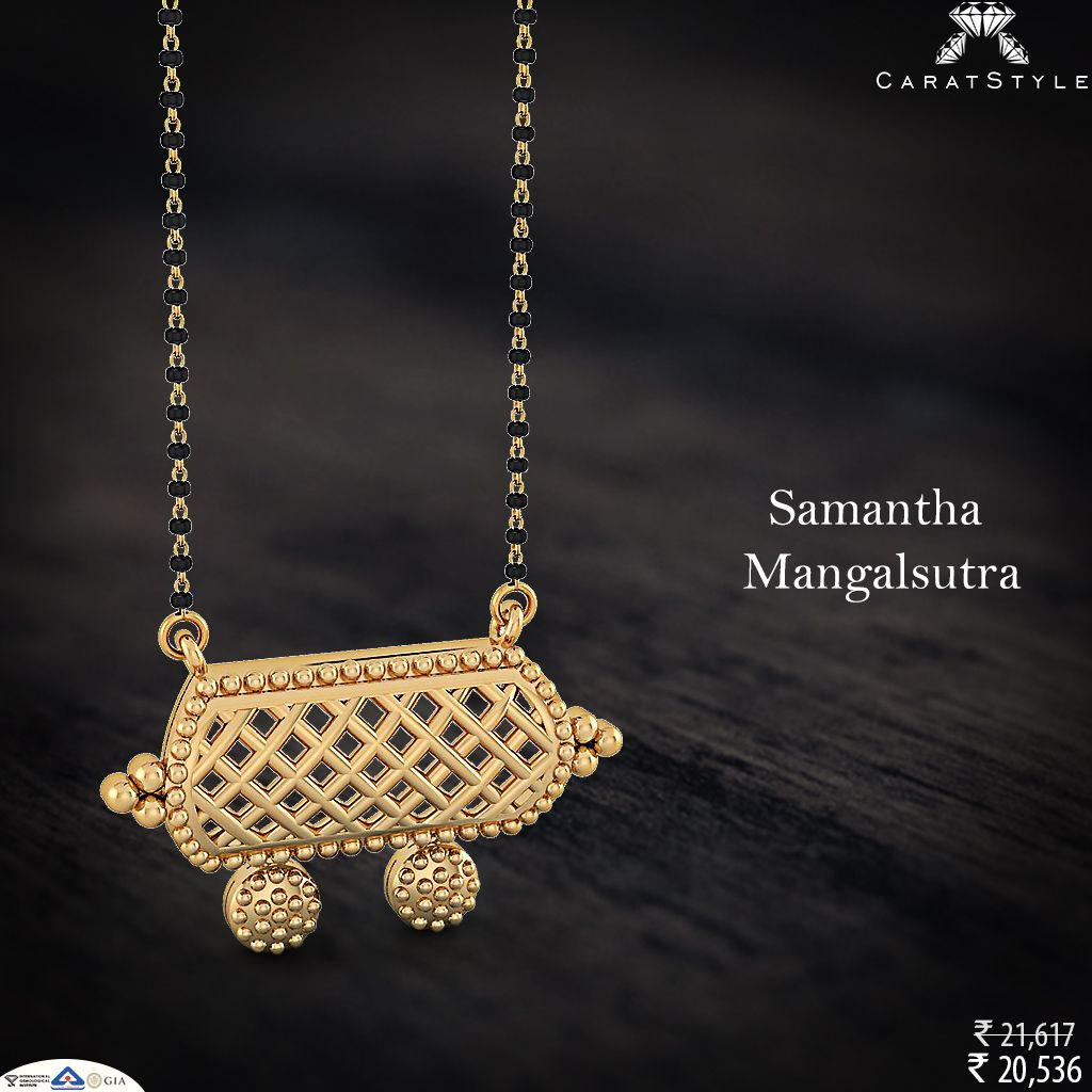 Customs and traditions choose the design of the mangalsutra gold