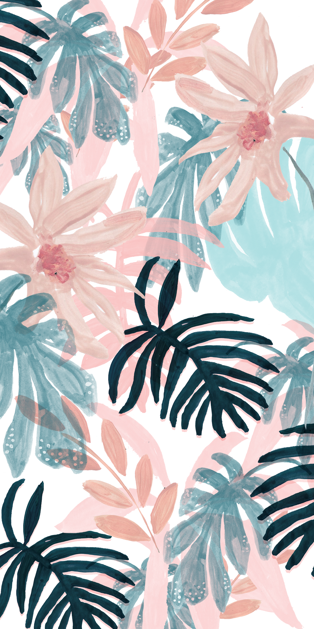 Pink Spring Casetify Iphone Art Design Floral Flowers Tropical Wallpaper Spring Wallpaper Floral Wallpaper