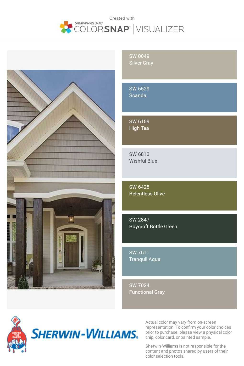 i just created this color palette with the sherwin on exterior house color combinations visualizer id=30286