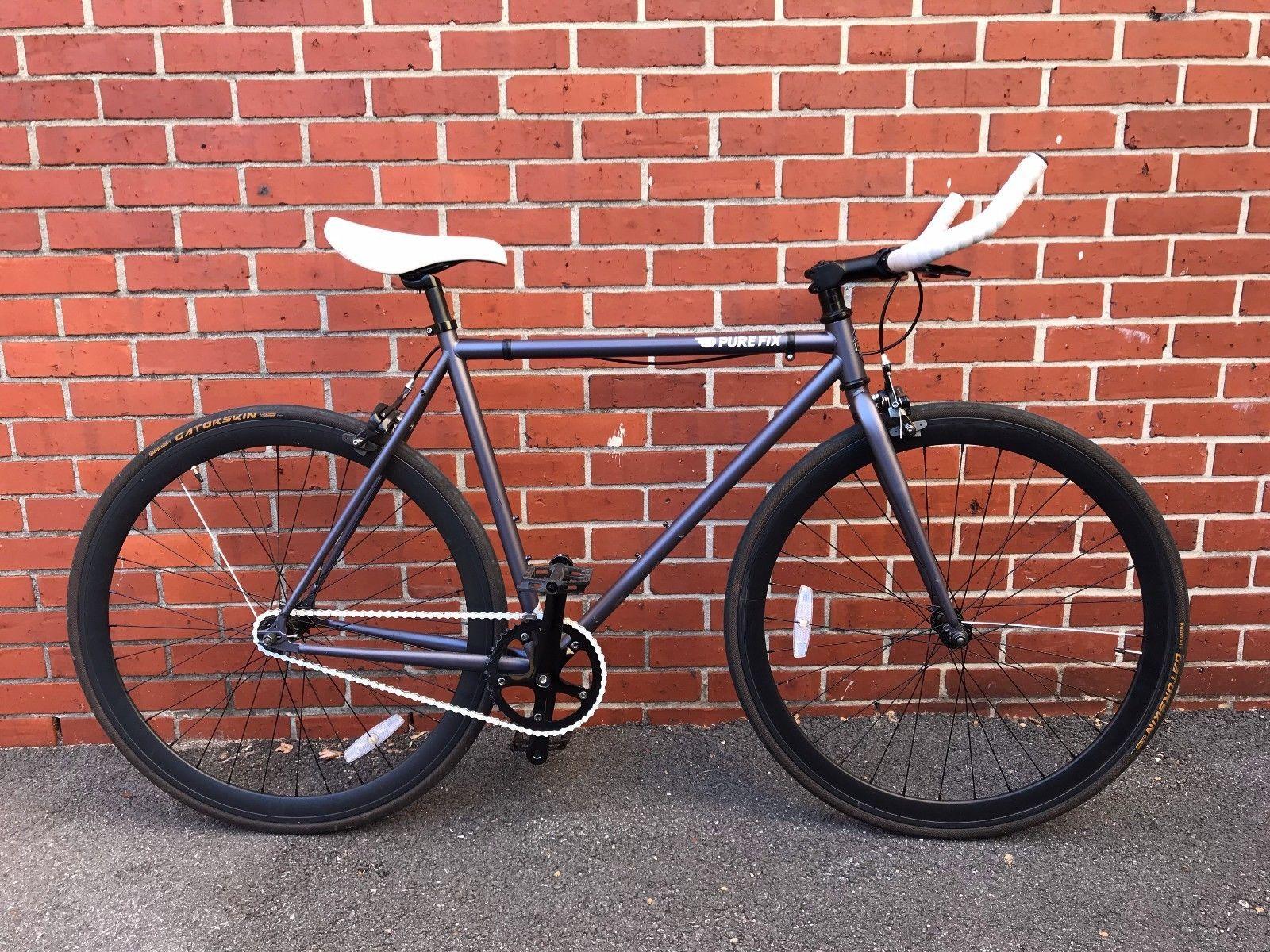 b500cc0221f ON SALE: Pure Fix Original Fixed Gear Single Speed Fixie Bike Free Wheel 54  cm