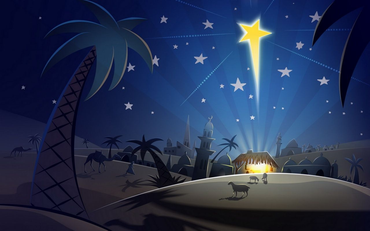 christian christmas backdrop download christmas religious wallpaper jesus christ star wallpaper - Christian Christmas Wallpaper
