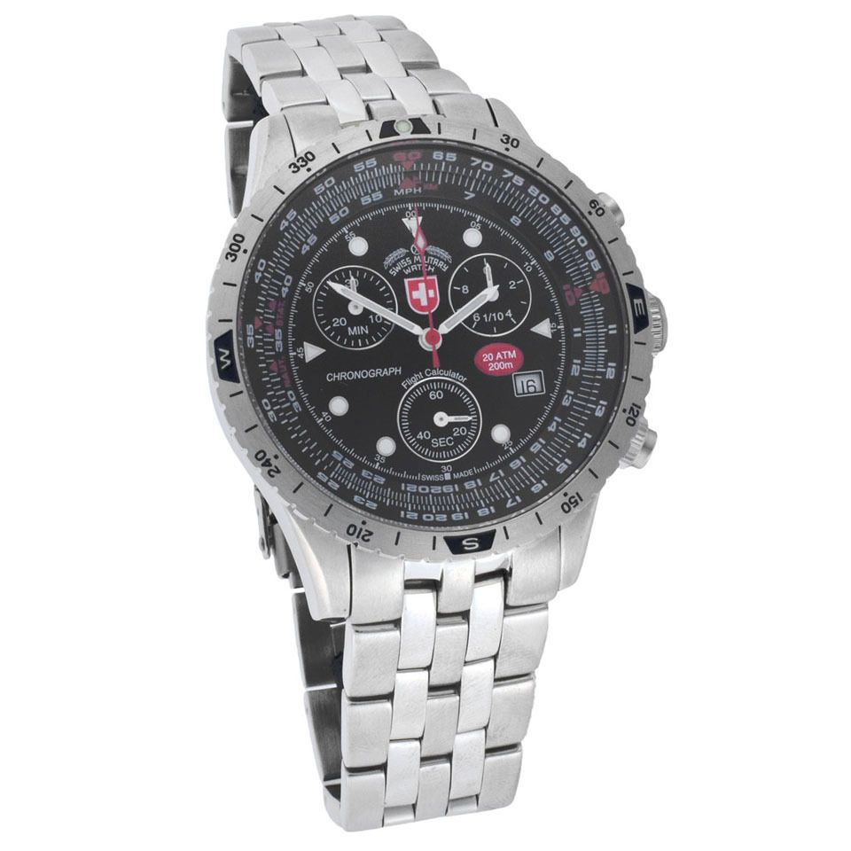CX Swiss Military Men's Swiss Military Chronograph Airforce