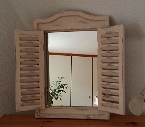 Spiegel Wandspiegel Fenster mit Klapplden zum ffnen ca