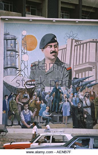 Iraqi Leader Stock Photos Iraqi Leader Stock Images Islamic Paintings Political Art Graffiti Font