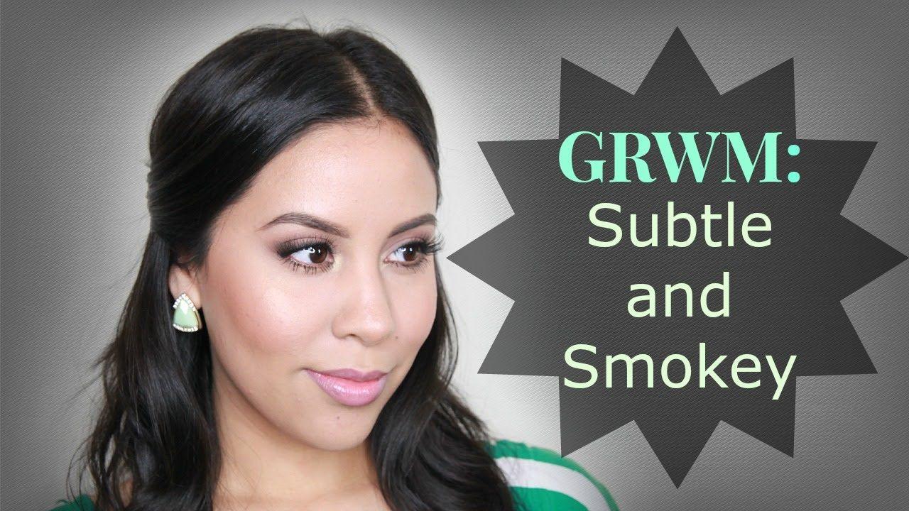 GRWM Subtle and Smokey Mac face, body, Face, body, Face